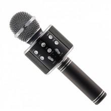 Микрофон беспроводной для караоке Wster WS858 Original Black (295)