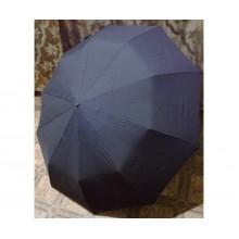 Большой складной  мужской семейный зонт купол 120 см полуавтомат Антиветер