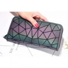 Женский клатч кошелёк BAO BAO для телефона и карточек 19,5x10,5x2,5 см Хамелеон