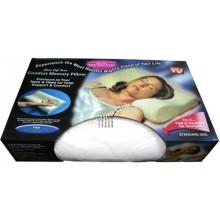 Ортопедическая подушка с памятью Memory foam pillow Подушка анатомическая