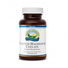 Натуральный Кальций Магний Хелат NSP с витамином D и фосфором для взрослых и детей Original