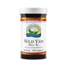 Натуральный препарат при климаксе Дикий ямс (Wild Yam) NSP Фитогармоны 100 капсул США Original