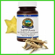 Натуральный антидепрессант от бессонницы при неврозе и агрессивности 5-гидрокситриптофан НСП (5-HTP Power) NSP