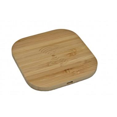Зарядка беспроводная WoodbooD Wireless Charge Mini Wood дерево Оригинал (346)