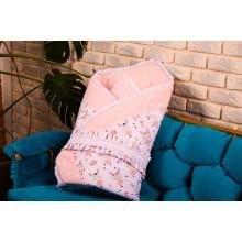 Набор для новорожденных BeniLo с конвертом на выписку Розовый (0094)